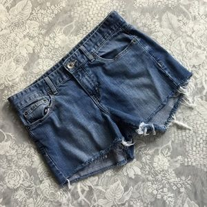 Calvin Klein Upcycled Jean Shorts